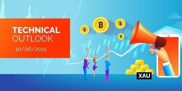 Technical-Analysis-Bitcoin-EURUSD-Gold-10th-June