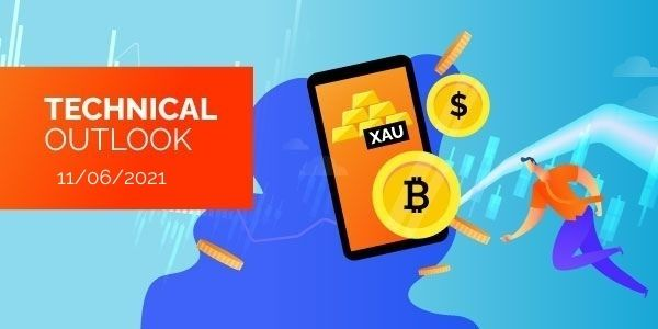 Technical-Analysis-Bitcoin-EURUSD-Gold-11th-June