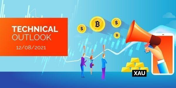 Technical-Analysis-Bitcoin-EURUSD-Gold-12th-August