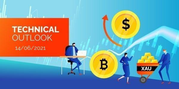Technical-Analysis-Bitcoin-EURUSD-Gold-14th-June