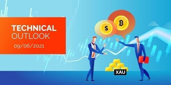 Technical-Analysis-Bitcoin-EURUSD-Gold-9th-June